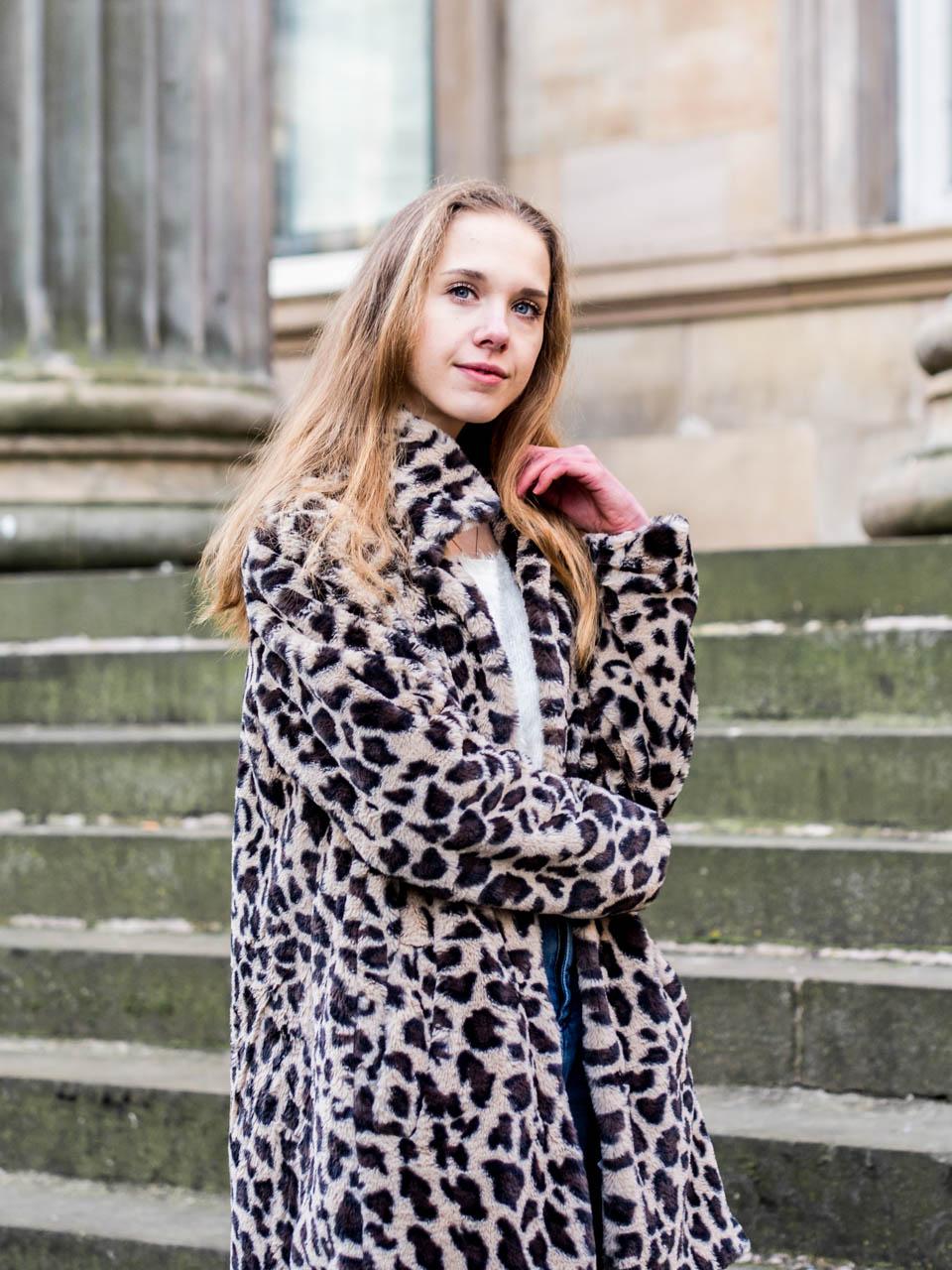 How to wear a leopard coat - Kuinka pukea leoparditakki