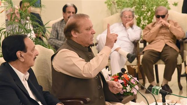 Pakistan's ousted Prime Minister Nawaz Sharif nominates younger brother as successor