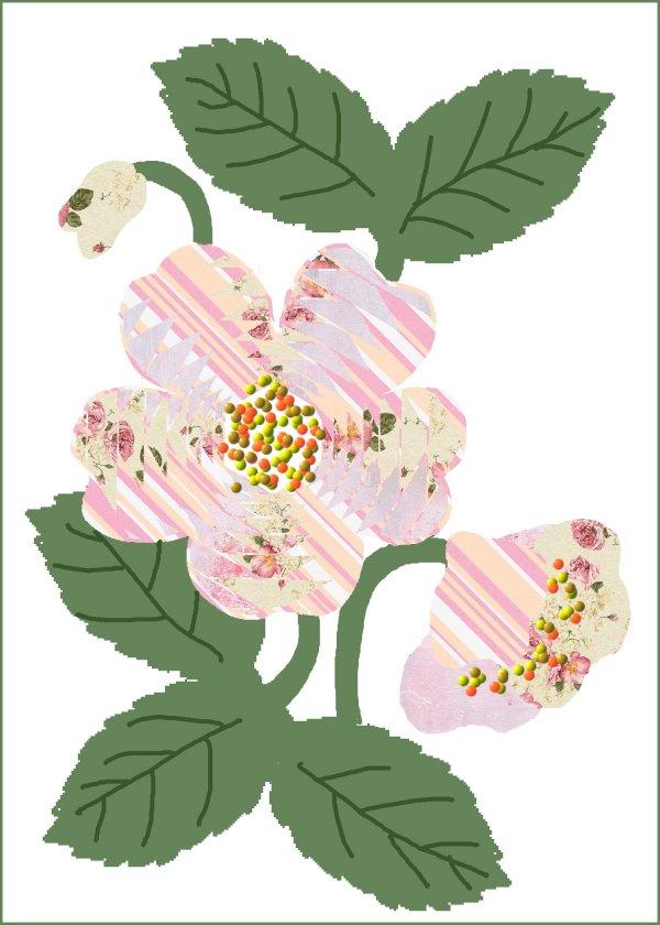 green thoughts christmas rose iris folded card rh rachelahyde blogspot com