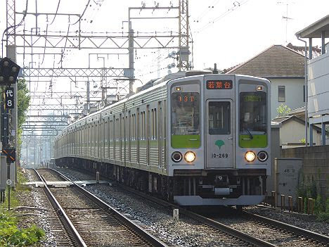 京王電鉄 区間急行 若葉台行き5 都営10-000形220F・230F・240F(2016.9廃止)