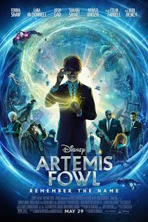 Artemis Fowl 2020 English 720p WEBRip