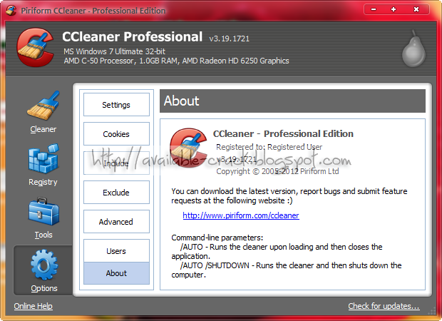 ccleaner pro activation key free download