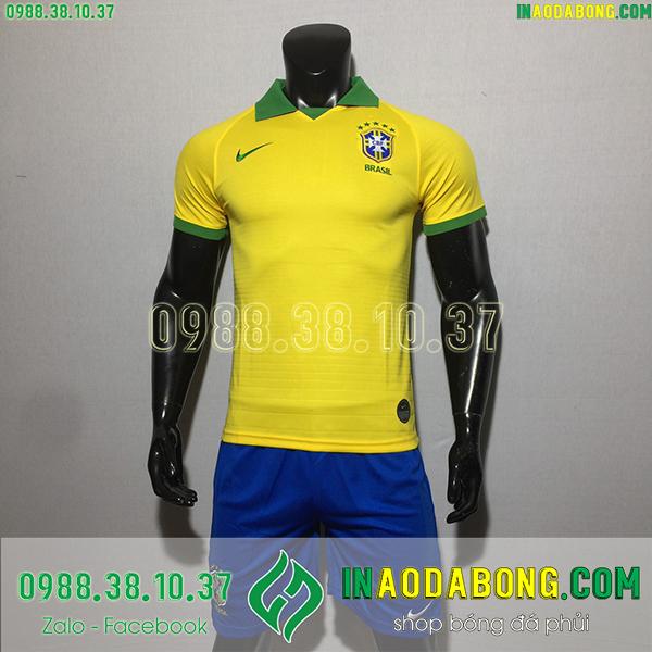 Áo bóng đá đội tuyển Brazil 2020 màu vàng