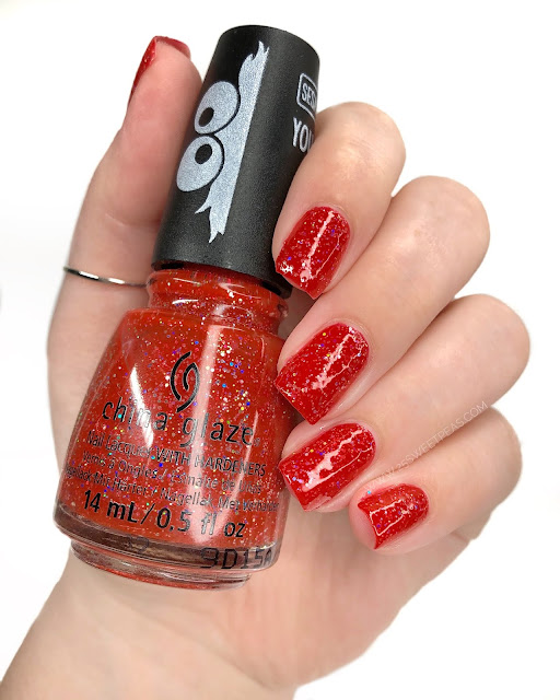 China Glaze Living in the Elmo-Ment 25 Sweetpeas