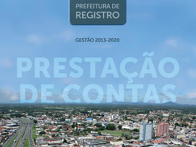 Prefeitura Registro-SP lança revista divulgando as principais ações realizadas entre 2013 e 2020