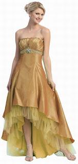 gold prom dresses 2014