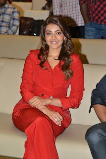 Kajal Aggarwal At Kavacham Teaser Launch Photo Stills