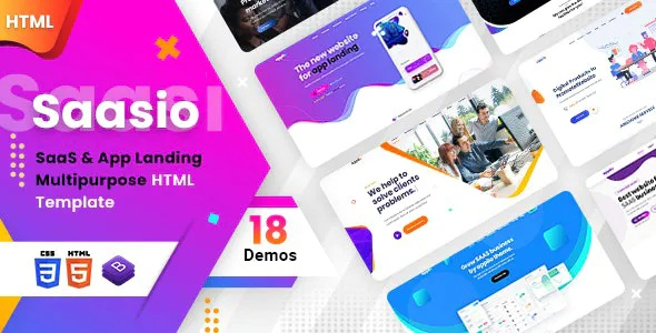 Best One Page Multipurpose Landing Page Template
