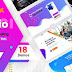 SaaSio One Page Multipurpose Landing Page Template