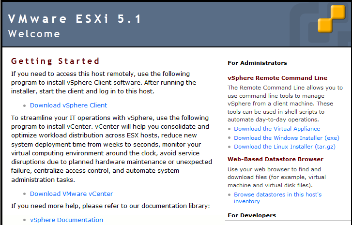 Linux, Unix, Shell: How to install VMware ESXi 5 1 and