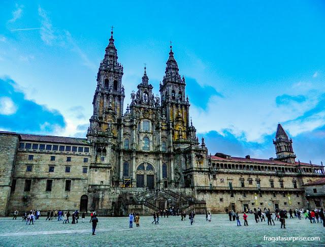 Catedral de Santiago de Compostela, ponto final do Caminho de Santiago