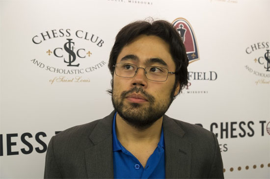 Ronde 6: Hikaru Nakamura (2814) a proprement exécuté le malheureux Wesley So (2779) © Lennart Ootes