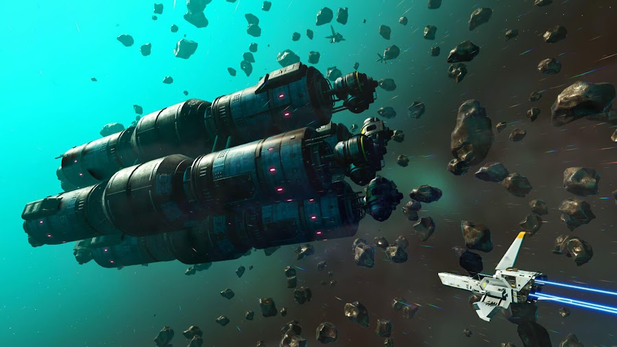 no mans sky abandoned derelict freighters desolation update free expansion update derelict freighters multiplayer action-adventure survival game hello games pc steam vr ps4 xb1