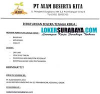 Karir Surabaya di PT. Alam Beserta Kita Juni 2020