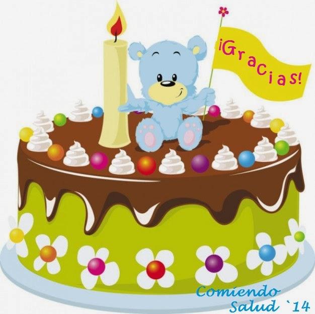feliz cumpleaños Comiendo Salud