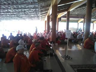 Edukasi Kesehatan dari Susu Haji Sehat kpd Calon Jamaah Haji KBIH An Nihayah, Karawang Jawa Barat