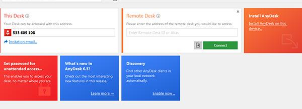 Tải AnyDesk Remote Desktop bản mới nhất cho Android, Windows d