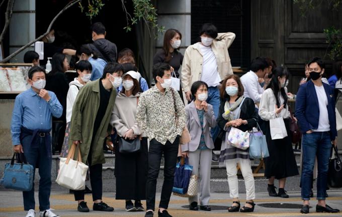 Giappone, stato d'emergenza fino al 31 maggio
