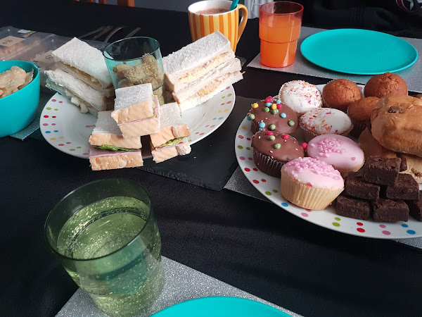 Anxiety free afternoon tea