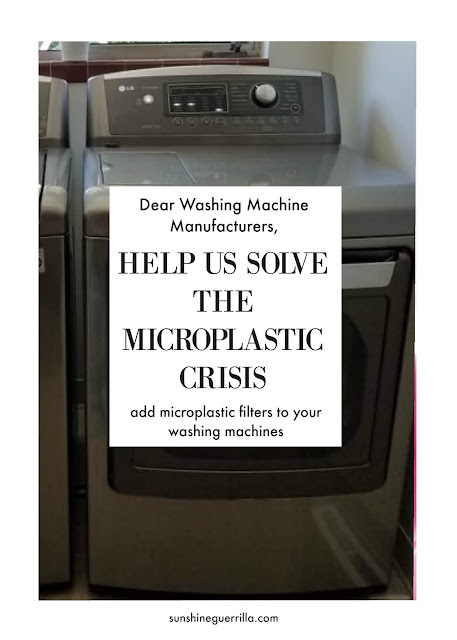 Washing Machine Manufacturers, You can Help End the Microfiber Crisis!