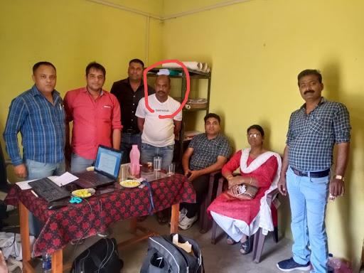 Vigilance-Trap- Patwari -taking-bribe-nabbed-in-Panna