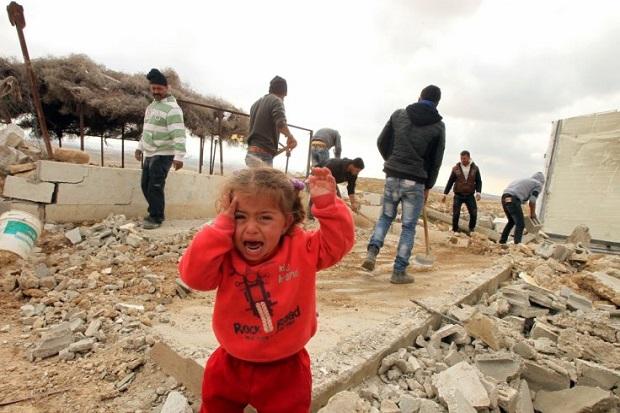 Inggris Kutuk Pembongkaran Permukiman Palestina oleh Israel