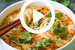 Best Thai Red Curry Noodle Soup Recipe #soup #noodlesoup #souprecipes