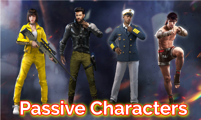 Garena Free Fire - Passive Characters