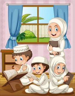 Mengaji bareng keluarga