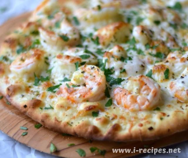 Shrimp Scampi Pizza Recipes