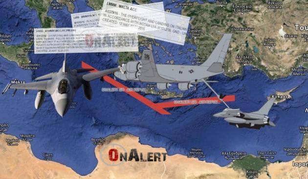 Όλα έτοιμα για να ξεκινήσει από ώρα σε ώρα η επέμβαση των ΝΑΤΟικών στην Λιβύη....