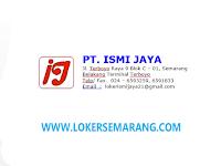 Lowongan Kerja Semarang Lulusan SMA SMK Sales Marketing di PT Ismi Jaya