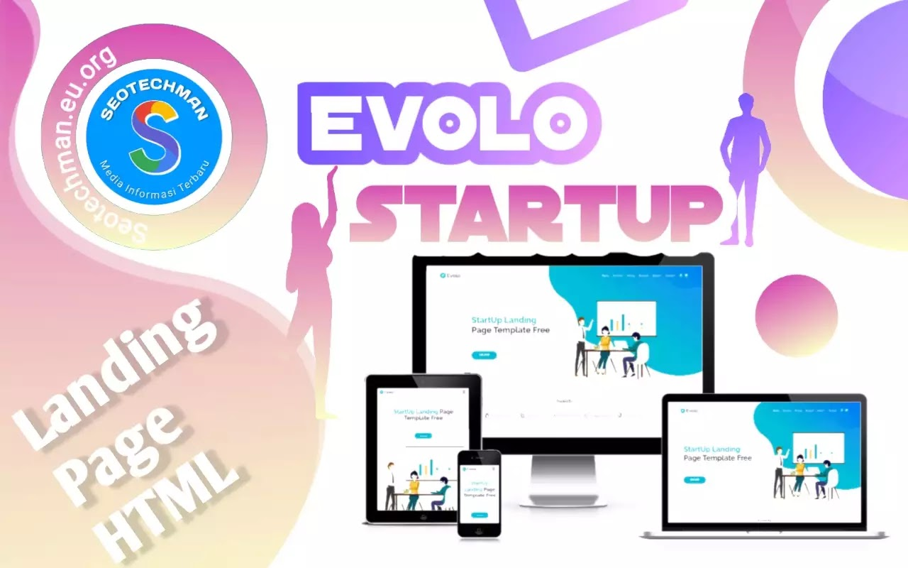 [Free Download] Evolo - Template Landing Page HTML Gratis!