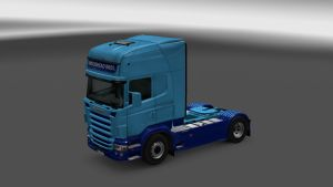 Woodhead Bros Skin for Scania RJL