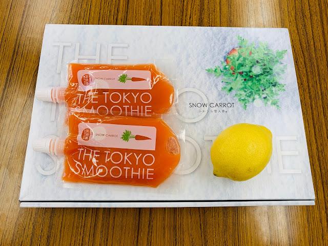 THE TOKYO SMOOTHIE × LEMON =  Delicious?
