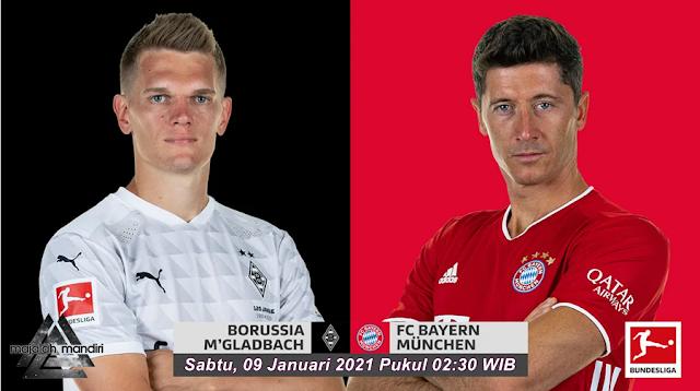 Prediksi Borussia Monchengladbach Vs Bayern Munchen