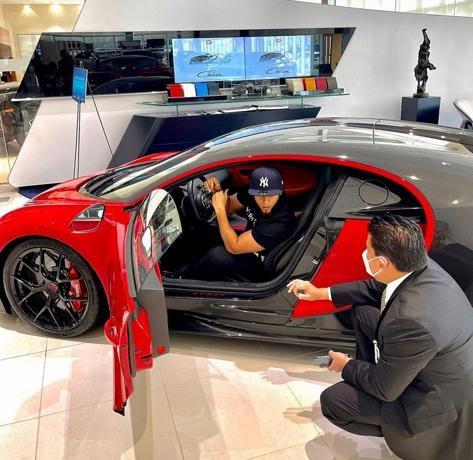 Queman el Bugatti del Artista Urbano el Alfa