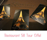 restaurant 58 tour eiffel