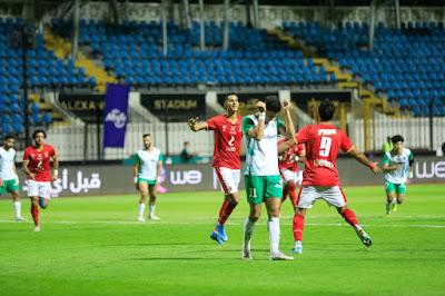 ملخص واهداف مباراة الاهلي والاتحاد السكندري (2-1) الدوري المصري