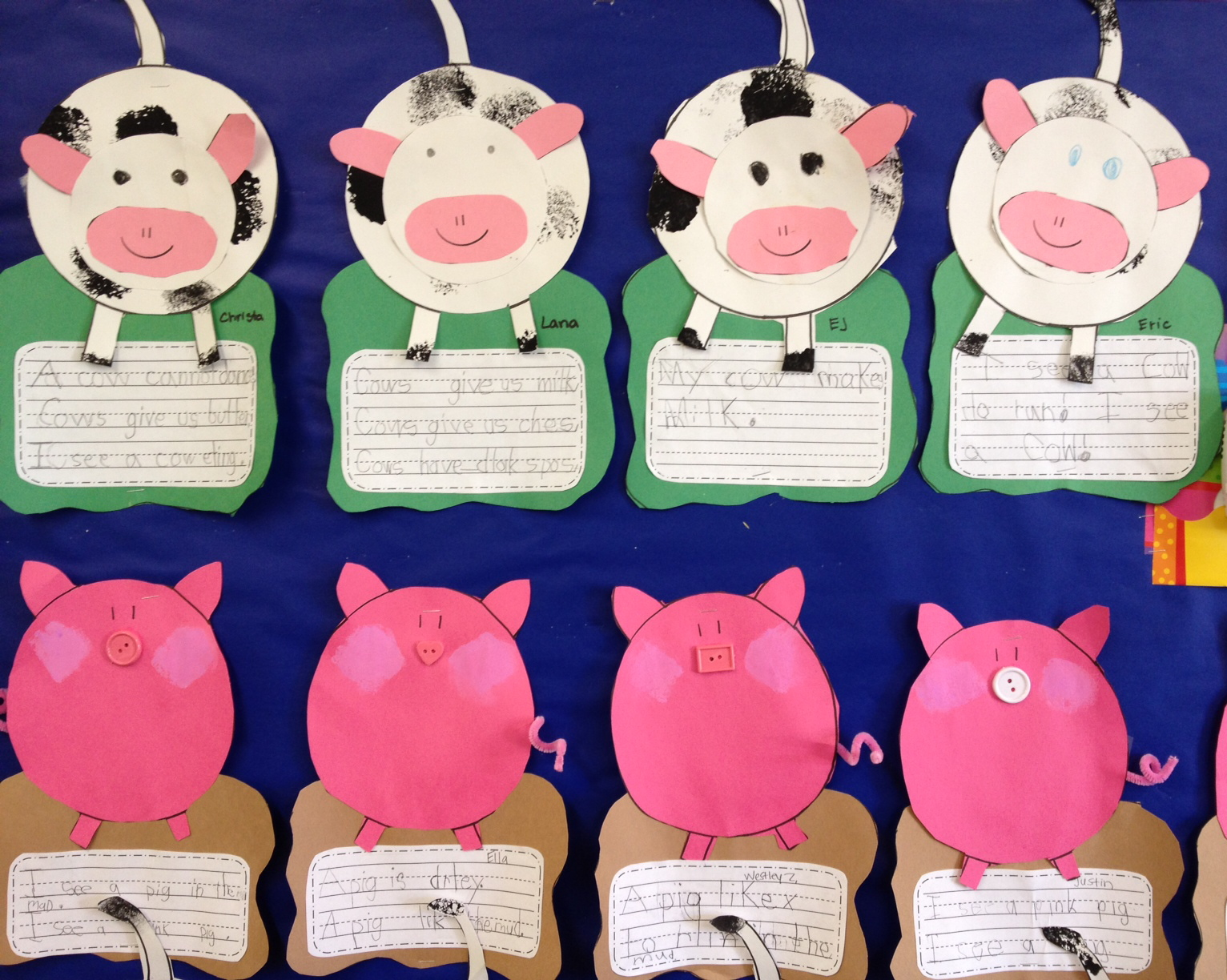 Cow And Pig Craft First Item For Sale