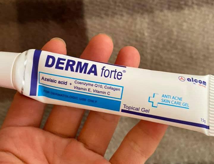 """Chỉ với giá chưa tới 100 ngàn, nhưng Derma Forte lại chứa rất nhiều thành phần """"xịn sò"""""""