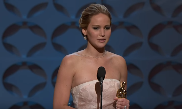 Jennifer Lawrence Oscars