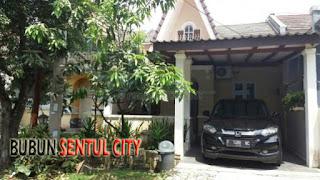 Rp.650 Jt Dijual Rumah Siap Huni Furnis Di Cluster Victoria Sentul City Bogor (code : 242)