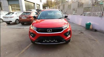 Tata Nexon Facelift front