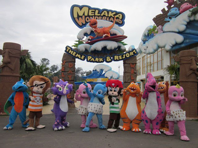 Melaka Wonderland Hadiahkan Tiket Percuma Kepada 'Frontliners'