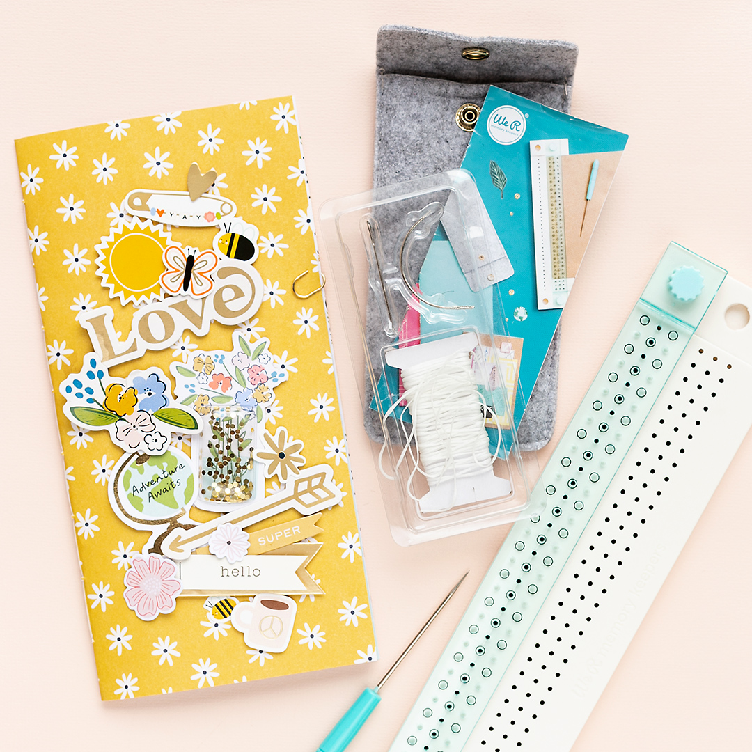 American Crafts | Two tiny tips for your Traveler's Journal