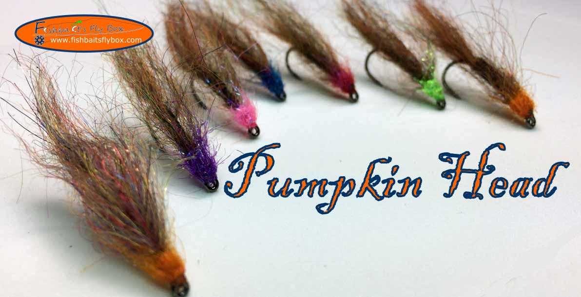 Mohair Leech Pumpkin Head