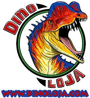 Logo Dino Loja - Compre seus dinossauros de coleção aqui