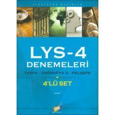 FDD LYS-4 Tarih,Coğrafya2,Felsefe 4lü Deneme Sınavı (2015)