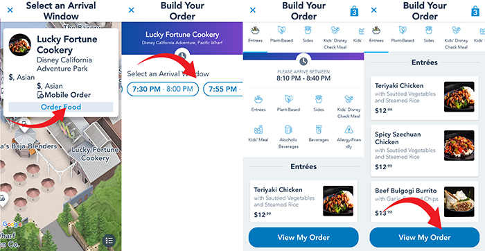 Disney Mobile Order